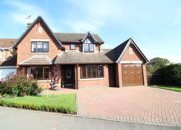 Thumbnail 5 bed detached house for sale in The Willows, Bedworth