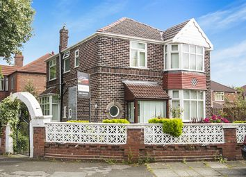 Thumbnail 4 bed detached house for sale in Strathmore Avenue, Chorlton Cum Hardy, Manchester