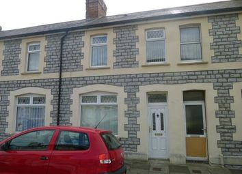 Thumbnail 3 bed terraced house to rent in Coronation Street, Barry