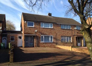 Thumbnail 3 bed semi-detached house to rent in Whaddon Way, Bletchley, Milton Keynes