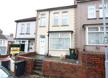 Thumbnail 2 bed terraced house for sale in Brynglas Crescent, Newport