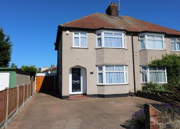 Thumbnail 3 bedroom semi-detached house for sale in Hampton Gardens, Southend-On-Sea