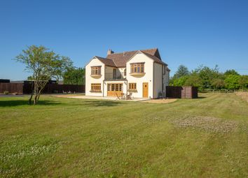 Thumbnail 6 bed detached house for sale in Stretham Road, Wicken, Ely