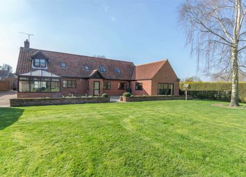 Thumbnail 4 bed detached house for sale in Station Road, Great Ryburgh, Fakenham