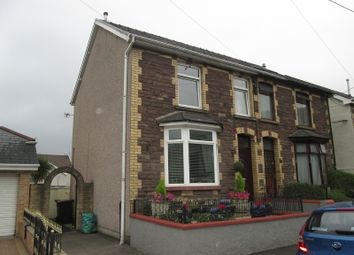 Thumbnail 3 bed semi-detached house for sale in Ebbw Street, Risca, Newport.