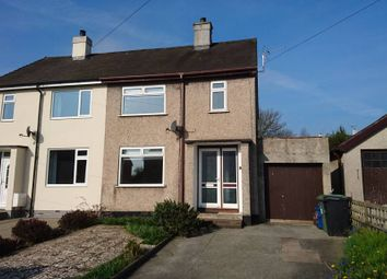 Thumbnail 2 bed semi-detached house for sale in Lon Y Bryn, Menai Bridge