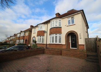 Thumbnail 3 bed semi-detached house for sale in Dennis Road, Gravesend, Kent