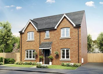 """Thumbnail 4 bed semi-detached house for sale in """"The Leverton"""" at Court Road, Brockworth, Gloucester"""