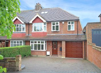 Thumbnail 4 bed semi-detached house for sale in Becketts Avenue, St. Albans, Hertfordshire