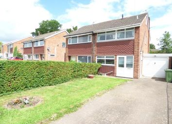 Thumbnail 3 bed semi-detached house for sale in Barnes Road, Highfileds, Stafford, Staffordshire