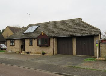 Thumbnail 2 bedroom detached bungalow for sale in Wentworth Drive, Oundle, Peterborough