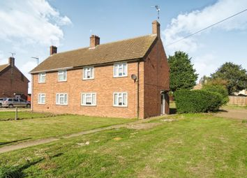 Thumbnail 3 bed semi-detached house for sale in Isle Bridge Road, Outwell, Wisbech