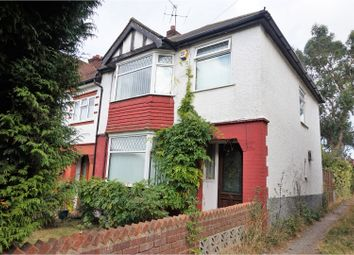 Thumbnail 3 bed semi-detached house for sale in Central Avenue, Gravesend