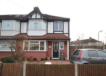 Thumbnail 3 bed end terrace house to rent in Sherwood Park Road, Mitcham