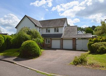 Thumbnail 4 bed detached house for sale in Barton Rise, Feniton, Honiton