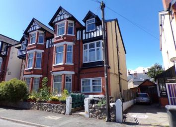 Thumbnail 1 bed flat for sale in Lawson Road, Colwyn Bay, Conwy