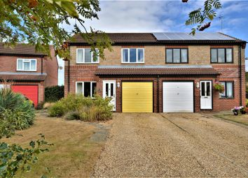 Thumbnail 3 bed semi-detached house for sale in Campion Grove, Stamford