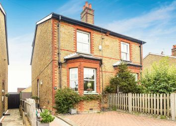 Thumbnail 3 bed semi-detached house for sale in Burgh Heath Road, Epsom