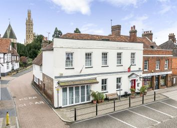 Thumbnail 6 bed semi-detached house for sale in The Square, High Street, Hadlow, Tonbridge