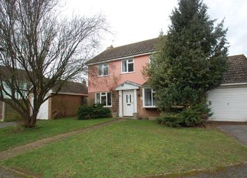 Thumbnail 4 bed detached house for sale in Strickmere, Stratford St. Mary, Colchester