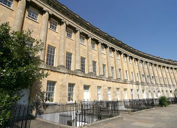 Thumbnail 1 bedroom flat to rent in Royal Crescent, Bath