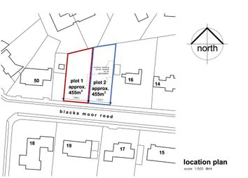 Thumbnail Land for sale in Plot 1, 18 Blacka Moor Road, Dore, Sheffield