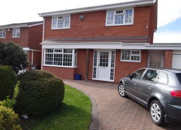 Thumbnail 3 bedroom detached house for sale in St James Crescent, Telford