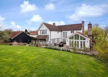 Thumbnail 5 bed detached house for sale in Main Street, Shudy Camps, Cambridge