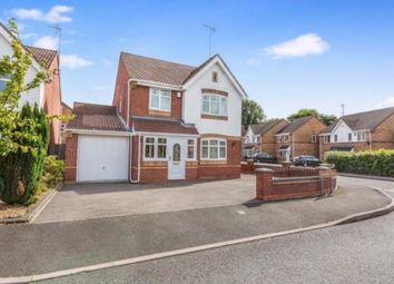 Thumbnail 3 bed detached house for sale in Grayling Close, Wednesbury, West Midlands