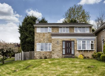 Thumbnail 4 bed detached house for sale in Lower Hall Road, Huddersfield