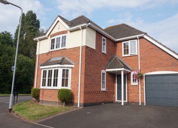Thumbnail 4 bed detached house for sale in Reedmace, Kettlebrook, Tamworth