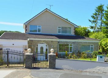 Thumbnail 3 bed detached house for sale in Dol Y Coed, Swansea