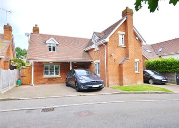 Thumbnail 4 bed detached house for sale in Marconi Gardens, Pilgrims Hatch, Brentwood, Essex