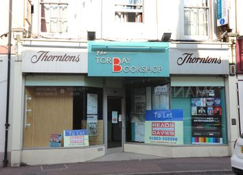 Thumbnail Property to rent in Torquay Road, Paignton