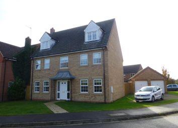 Thumbnail 5 bedroom detached house for sale in Ladbroke Close, Helpringham, Sleaford