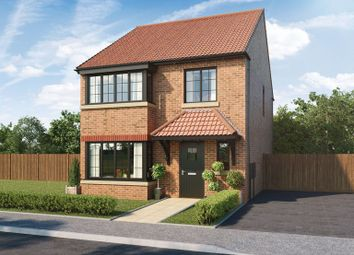 Thumbnail 4 bed detached house for sale in Arcot Manor, Off Fisher Lane, Cramlington