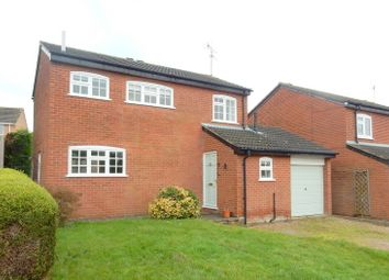 Thumbnail 3 bed detached house to rent in Heythrop Close, Oadby, Leicester
