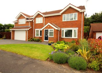 Thumbnail 5 bed detached house for sale in Silloth Drive, Washington