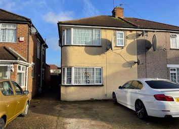 3 bed semi-detached house for sale in Dunbar Close, Hayes, Middlesex UB4