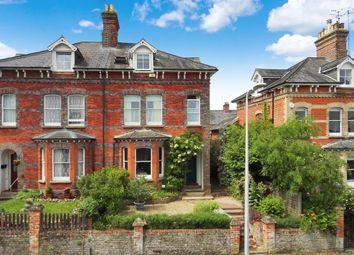 Thumbnail 4 bedroom terraced house for sale in Greenham Road, Newbury