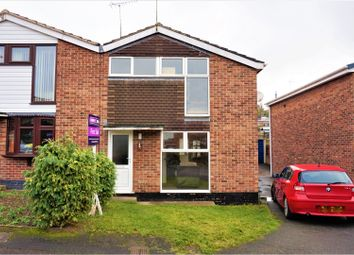 Thumbnail 3 bed semi-detached house for sale in Clamp Drive, Swadlincote