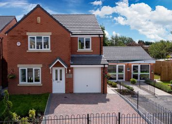 "Thumbnail 4 bedroom detached house for sale in ""The Hornsea "" at Station Road, Hesketh Bank"