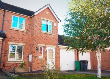 Thumbnail 3 bed semi-detached house for sale in Stanks Drive, Leeds