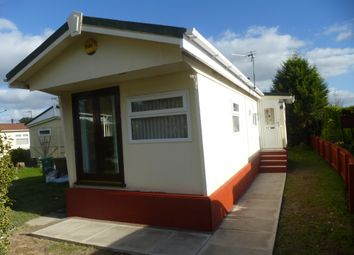 Thumbnail 1 bed mobile/park home to rent in Lee Green Lane, Church Minshull, Nantwich