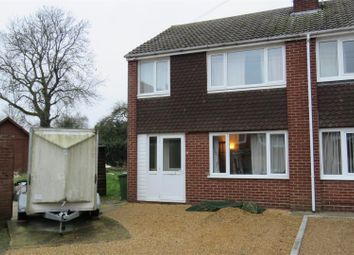 Thumbnail 3 bedroom semi-detached house for sale in Sunfield Road, Bury, Ramsey, Huntingdon
