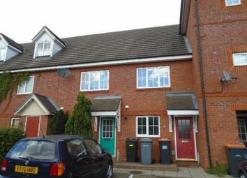 Thumbnail 2 bed terraced house to rent in Ellington Road, Elstow, Bedford