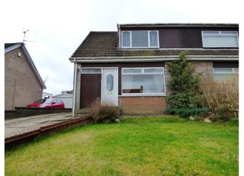 Thumbnail 3 bedroom semi-detached house for sale in Strathbeg Place, Dundee