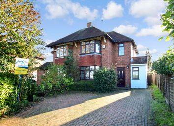 Thumbnail 3 bed semi-detached house for sale in Westwell Lane, Tutt Hill, Ashford, Kent