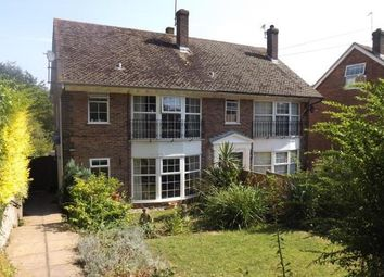 Thumbnail 4 bedroom semi-detached house to rent in Sackville Close, Lewes