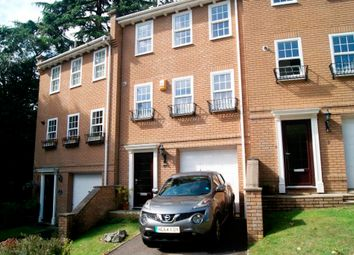 Thumbnail 4 bed town house to rent in Branksome Wood Road, Bournemouth